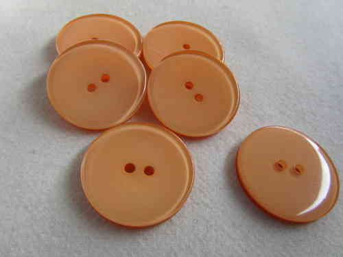 Knopf orange 18mm K43168
