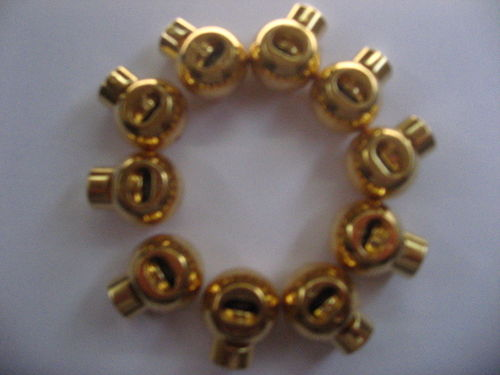 K20859 Kordelstopper gold 18mm