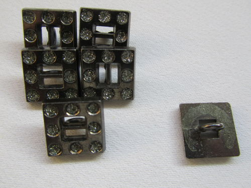 K11768 Knopf metall-strass 20 mm