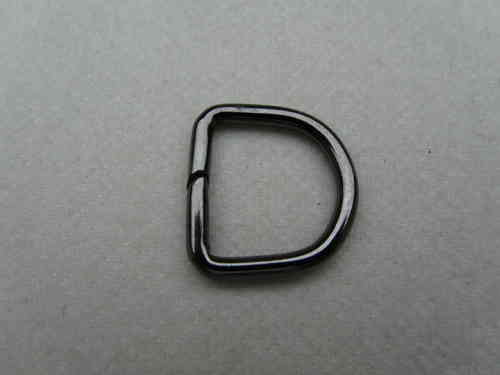 D Ring metall-anthrazit D1015