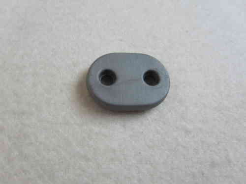 K19524 Kordelstopper  20x14mm grau